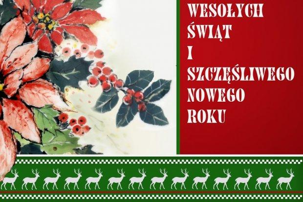 Ceramika Artystyczna życzy Wesołych Świąt i Szczęśliwego Nowego Roku