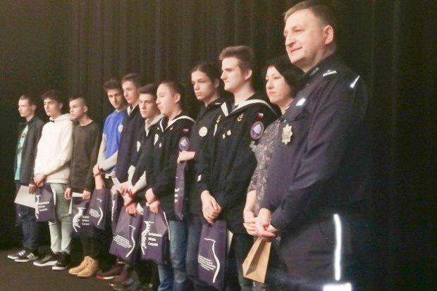 II Prywatne Gimnazjum bezkonkurencyjne w policyjnym konkursie filmowym