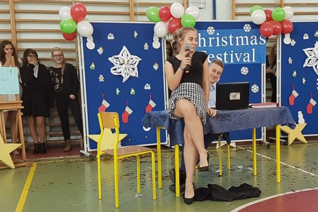 Festiwal Piosenek Świątecznych w Językach Obcych w SP nr 5
