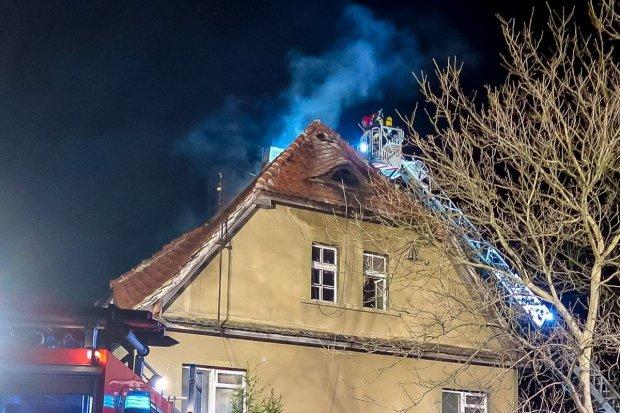 Pożar budynku w Bolesławcu, znaleziono ciało mężczyzny