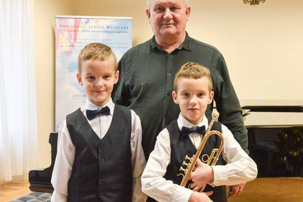 Bracia Nowakowie zwycięzcami Festiwalu Instrumentów Dętych Blaszanych