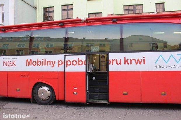 Krwiobus w Bolesławcu. Zobacz kiedy!