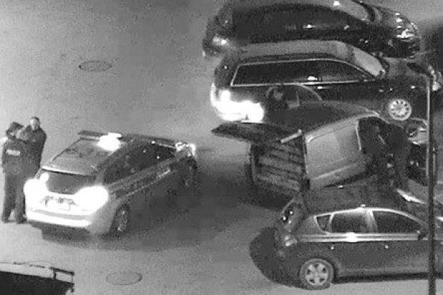 Ukradli europalety z zaplecza naszej Bazyliki