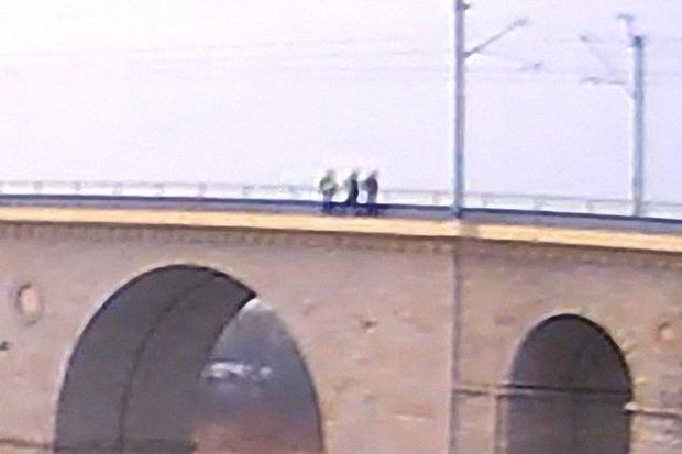 Chciał skoczyć z wiaduktu? Interweniowała policja