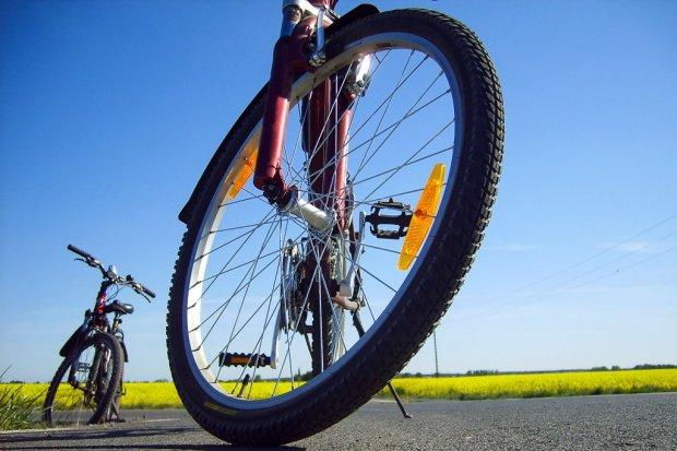 Potrąciła rowerzystę na Zgorzeleckiej