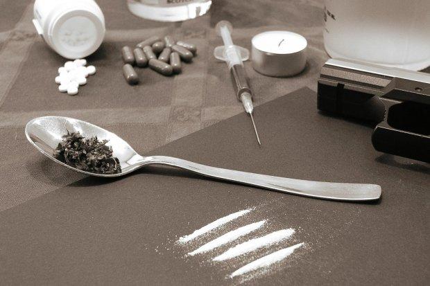 Wpadł z amfetaminą, marihuaną, haszyszem i ecstasy