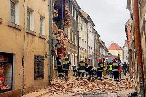 Wywołał wybuch kamienicy w Mirsku. Sprawca katastrofy z zarzutami