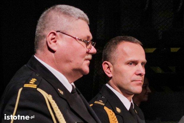 Andrzej Śliwowski nowym komendantem straży, Grzegorz Kocon odchodzi na emeryturę