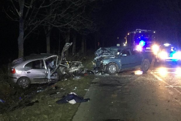 Poważny wypadek na drodze między Kraśnikiem a Krzyżową