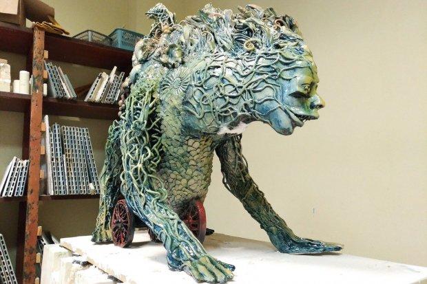 Nazwijcie nową rzeźbę Kazimierza Kalkowskiego