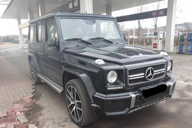 Polak i Niemiec ukradli w Niemczech auto warte 750 tys. złotych