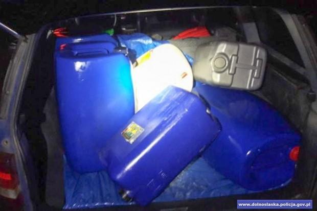 Ukradł 250 litrów paliwa, wpadł na gorącym uczynku