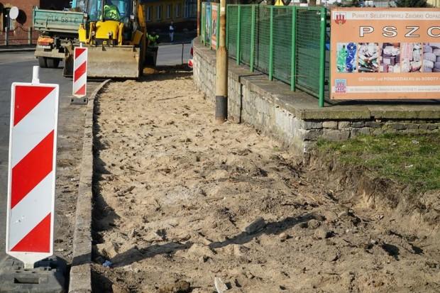 Ruszył remont ulicy Staszica