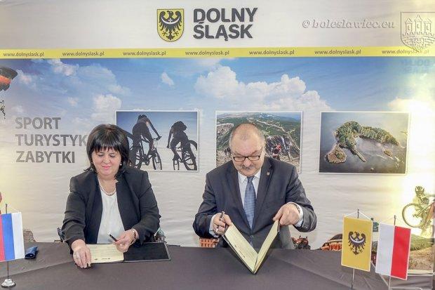 Jest umowa o współpracy między Republiką Serbską a Dolnym Śląskiem