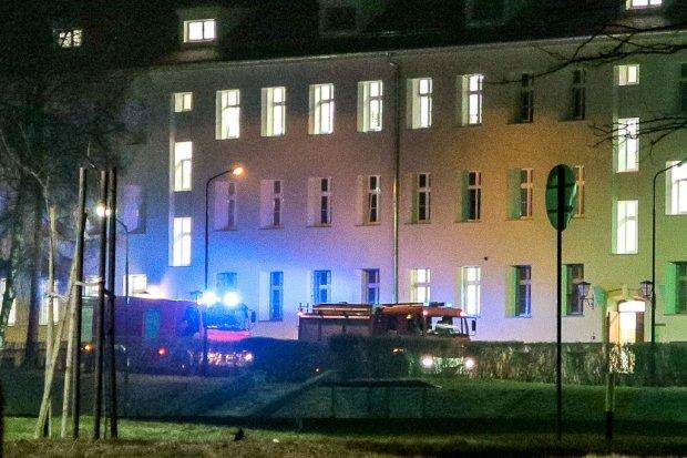 Ewakuowano 20 żołnierzy amerykańskich z budynku na terenie jednostki wojskowej