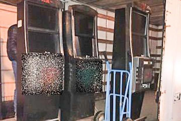 Nielegalne automaty do gier hazardowych zarekwirowane