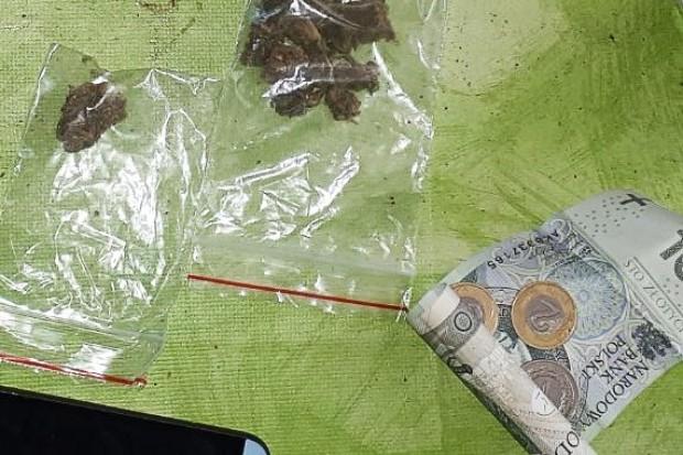 Diler narkotykowy w rękach policji