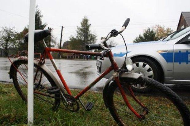 Pijany rowerzysta z naszego powiatu zatrzymany we Włodzicach Wielkich