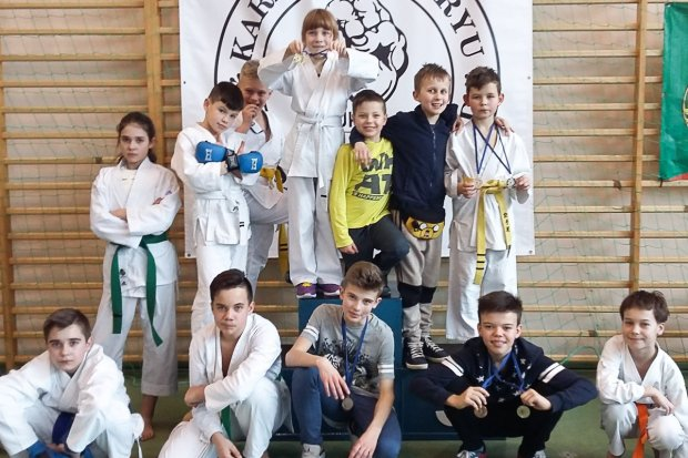 Grad medali karateków TOP na Wińsko Cup 2018