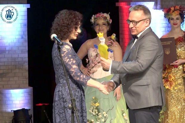 Helena Smoleńska z Nagrodą Honorową Prezydenta Miasta Bolesławiec
