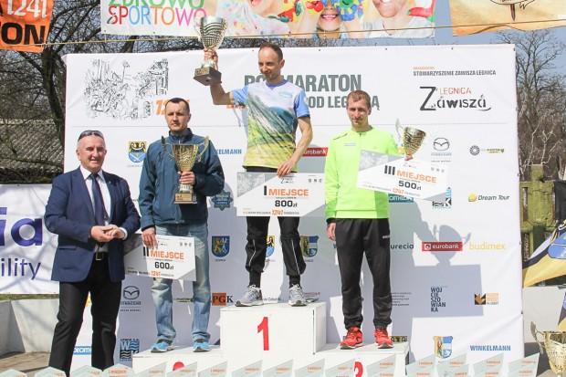 Bolesławianin Kamil Makoś najlepszy w Półmaratonie Bitwy Legnickiej