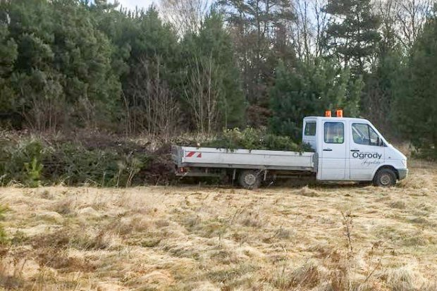 Zielone odpady za cmentarzem Kutuzowa? Mieszkańcy boją się, że zaczną gnić i śmierdzieć