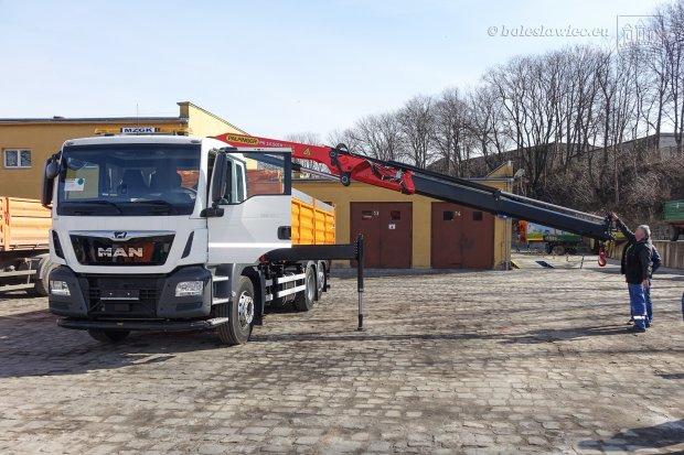 MZGK z nową ciężarówką za ponad pół miliona zł (netto)