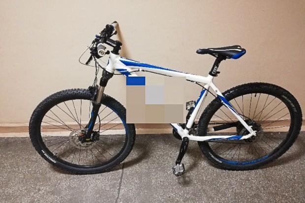 Znowu ukradł rower! 26-letni recydywista zatrzymany