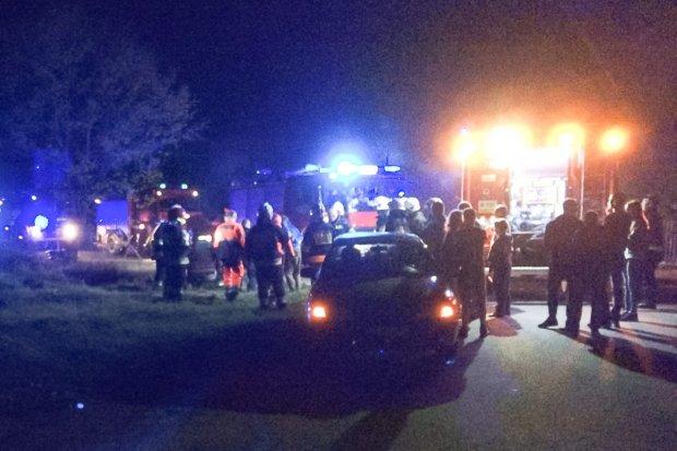Pijany 35-latek przydzwonił w latarnię. Pobrano mu krew do badań