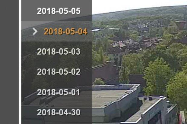 Nowa funkcja w naszej kamerze: można oglądać archiwalne nagrania
