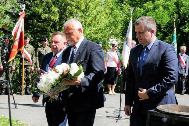 Powiat świętował 73 rocznicę zakończenia II Wojny Światowej