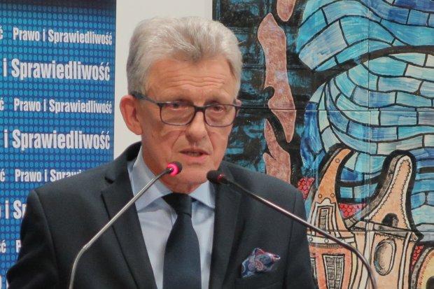 Poseł Piotrowicz z PiS w Bolesławcu – relacja na żywo