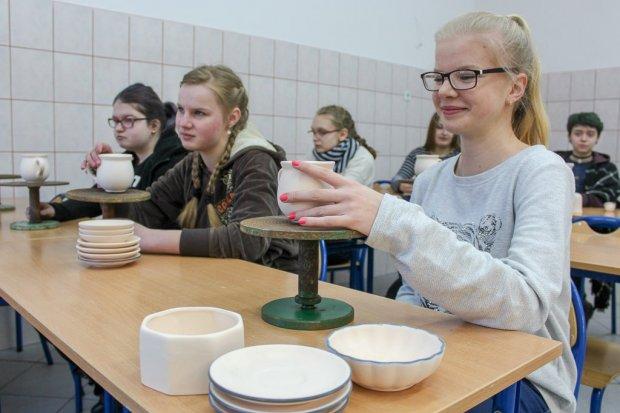 Zawodowcy w powiecie i mieście ceramiki