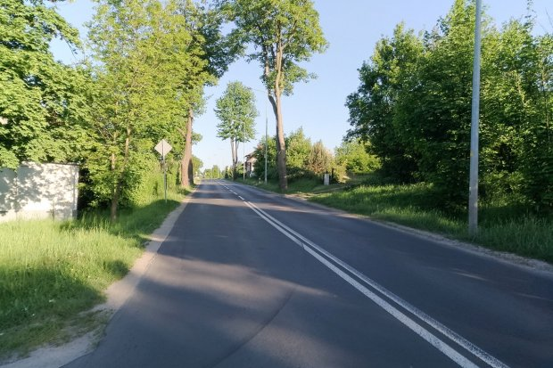 Będzie chodnik z Bolesławca do Łazisk?