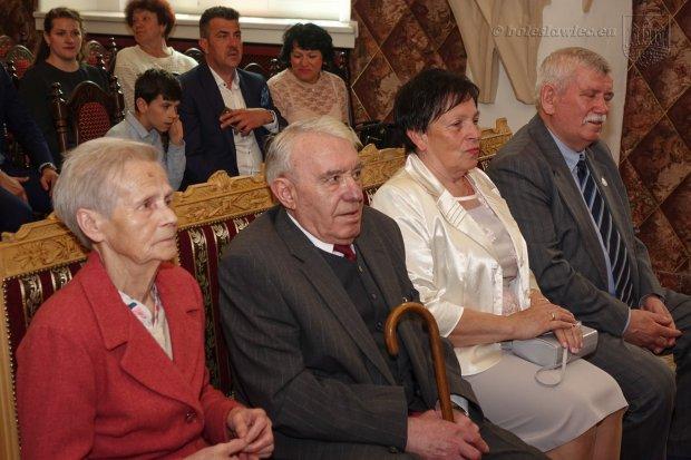Dwie bolesławieckie pary świętowały jubileusze pożycia małżeńskiego