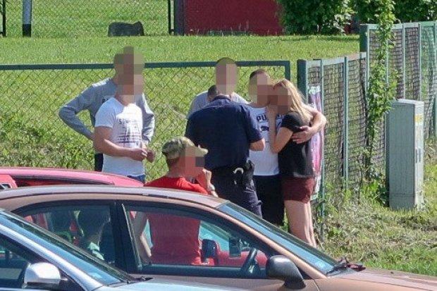 Mężczyzna mierzył z broni do kobiety na ulicy Gałczyńskiego
