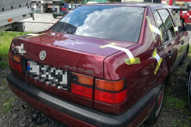 Włamywacz zatrzymany, skradziony pojazd odzyskany