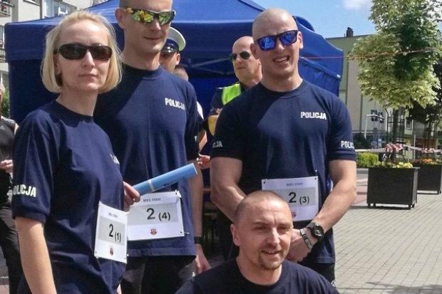 Bolesławiecka policja biega! Nasi mundurowi na drugim miejscu