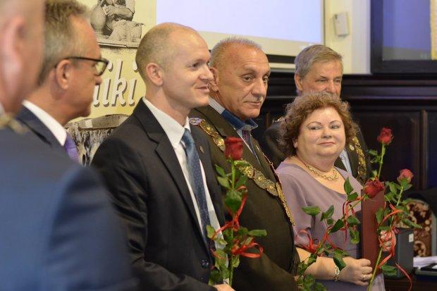 Zasłużeni dla Miasta Bolesławiec odebrali odznaczenia