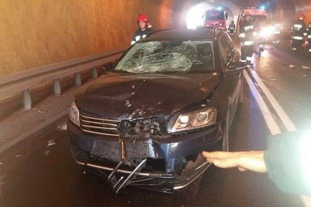 Śmiertelny wypadek w Karpaczu. 66-letni kierowca skutera zginął na miejscu