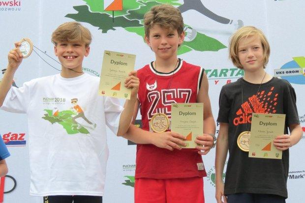 Trzy medale Mistrzostw Polski dla zawodników UKS Orientpark.pl Iwiny