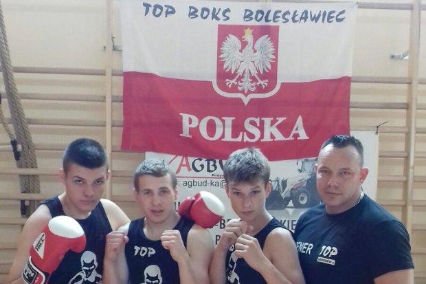 Pięściarze TOP Boks Bolesławiec na dolnośląskim turnieju w Szczawnie-Zdroju