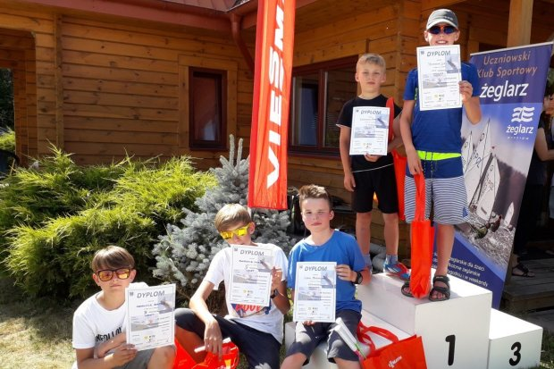 Załoga Cadeta na 4 miejscu w Pucharze Polski w Regatach