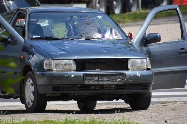 Dolne Młyny: kolizja motocykla z volkswagenem