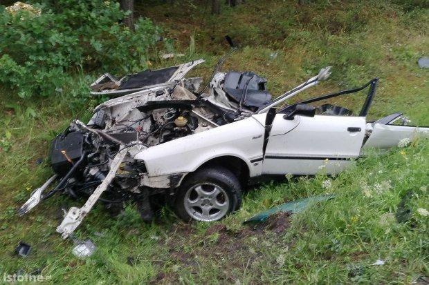 Śmiertelny wypadek koło Trzebienia, 29-letni Ukrainiec nie żyje