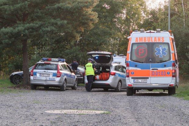 Policjant potrącony w pościgu na osiedlu Kwiatowym