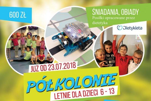 Fit Dzieciaki: półkolonie Laboratorium Kreatywności i Fit Style w Bolesławcu