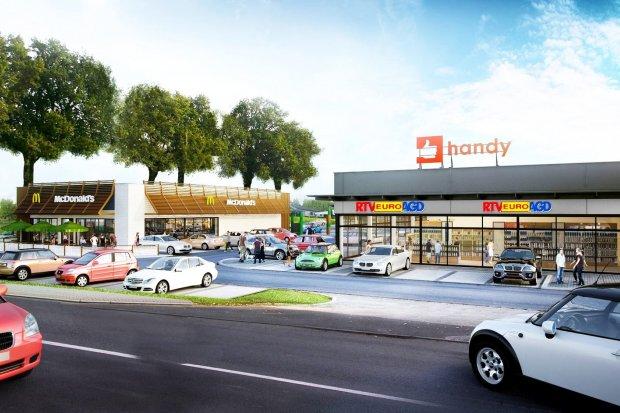 Co z McDonaldem i parkiem handlowym przy Kościuszki w Bolesławcu?