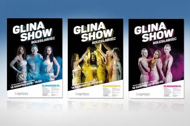 Który plakat Glina Show wybieracie?