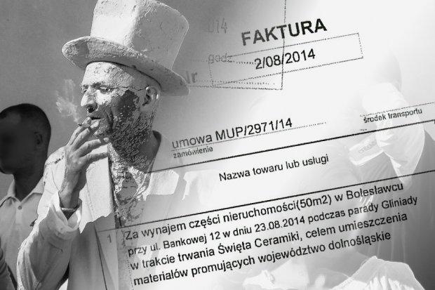 Jak Nowak, co na Gliniadzie w Bolesławcu niby nigdy grosza nie zarobił, zainkasował 28 tys.